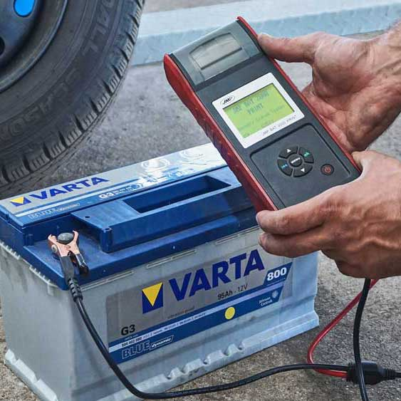 Batterietestgerät Varta Hand Messgerät